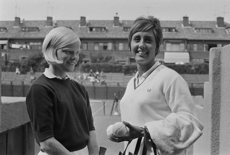 1967-08-07 - SCHEVENINGEN Op de M.E.T.S.-banen worden thans de Nationale Tenniskampioenschappen 3