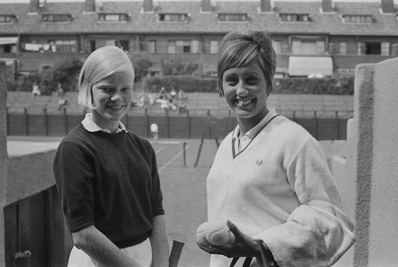 1967-08-07 - SCHEVENINGEN Op de M.E.T.S.-banen worden thans de Nationale Tenniskampioenschappen g